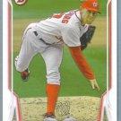 2014 Bowman Baseball Mike Leake (Reds) #10