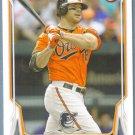 2014 Bowman Baseball Carlos Santana (Indians) #197