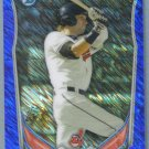 2014 Bowman Baseball Mini Chrome Blue Tyler Naquin (Indians) #BM-CI3 #'d 236/250