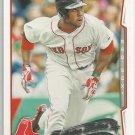 2014 Topps Baseball Future Stars Jackie Bradley Jr (Red Sox) #439