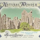2014 Topps Allen & Ginter Baseball Natural Wonder The Shilin Stone Forest #NW-02