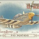 2014 Topps Allen & Ginter Air Supremacy P-51 Mustang #AS-04