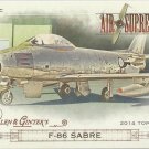 2014 Topps Allen & Ginter Air Supremacy F-86 Sabre #AS-12