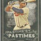 2014 Topps Allen & Ginter Baseball Pastimes Justin Upton (Braves) #PP-JU