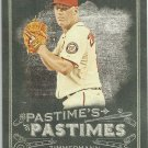 2014 Topps Allen & Ginter Baseball Pastimes Jordan Zimmerman (Nationals) #PP-JZ