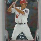 2014 Bowman Chrome Baseball Alex Wood (Braves) #107
