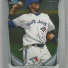 2014 Bowman Chrome Baseball Prospect Jake Sanchez (Athletics) #BCP88