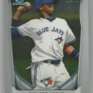 2014 Bowman Chrome Baseball Prospect Dawel Lugo (Blue Jays) #BCP89