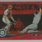 2014 Topps Update & Highlights Baseball Red Sparkle Willie Bloomquist (Mariners) #US49