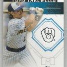 2014 Topps Update & Highlights Baseball Fond Farewells Robin Yount (Brewers) #FF-RY