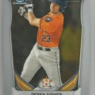 2014 Bowman Draft Picks & Prospects Chrome Draft Pick Derek Fisher (Astros) #CDP35