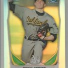 2014 Bowman Draft Picks & Prospects Chrome Refractor Draft Pick Brett Graves (Athletics) #CDP-73
