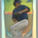 2014 Bowman Draft Picks & Prospects Chrome Refractor Draft Pick Brent Honeywell (Rays) #CDP77