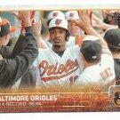 2015 Topps Baseball Oakland Athletics Team (Athletics) #33