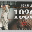 2015 Topps Highlight of the Year 1936 Bob Feller (Indians) #H-4