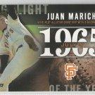 2015 Topps Highlight of the Year 1965 Juan Marichal (Giants) #H-15
