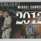 2015 Topps Highlight of the Year 2012 Miguel Cabrera (Tigers) #H-30