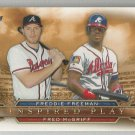 2015 Topps Inspired Play Freddie Freeman & Fred McGriff (Braves) # I-10