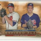2015 Topps Inspired Play Craig Kimbrel & John Smoltz (Braves) # I-13