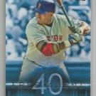 2015 Topps Baseball Free Agent 40 David Ortiz (Red Sox) #F40-6