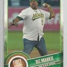 2015 Topps Baseball First Pitch Biz Markie (Athletics) #FP-05