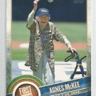 2015 Topps Baseball First Pitch Agnes McKee (Padres) #FP-06