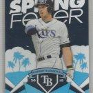 2015 Topps Baseball Spring Fever Evan Longoria (Rays) #SF-37