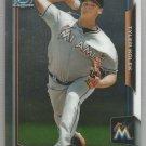 2015 Bowman Baseball Chrome Prospect Justin Nicolino (Marlins) #BCP93