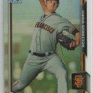 2015 Bowman Baseball Chrome Refractor Prospect Chris Stratton (Giants) #BCP54 #'d 422/499