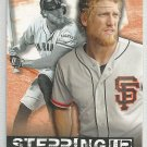 2015 Topps Baseball Stepping Up Hunter Pence (Giants) #SU-14