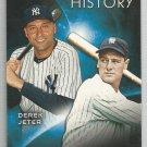 2015 Topps Eclipsing History Derek Jeter & Lou Gehrig (Yankees) #EH-9