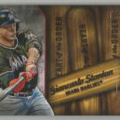 2015 Topps Baseball Heart of the Order Giancarlo Stanton (Marlins) #HOR-10