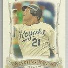 2015 Topps Allen & Ginter Baseball Starting Point 2007 Billy Butler (Royals) #SP-61