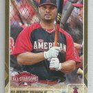 2015 Topps Update & Highlights GOLD Albert Pujols AS (Angels) #US68 #'d 1393/2015