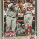 2015 Topps Update & Highlights GOLD Prince Fielder AS (Rangers) #US370 #'d 1372/2015