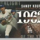 2015 Topps Update & Highlights Season Highlight 1966 Sandy Koufax (Dodgers) #H-71