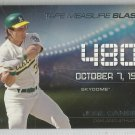 2015 Topps Update & Highlights Tape Measure Blasts Jose Canseco (Athletics) #TMB-1
