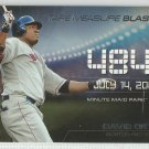2015 Topps Update & Highlights Tape Measure Blasts David Ortiz (Red Sox) #TMB-10