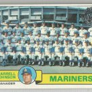 2015 Topps Update & Highlights Original Buybacks 1979 Topps Mariners Team CL (Mariners) #659