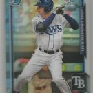 2015 Bowman Draft Picks & Prospects Chrome Refractor Jake Croneworth (Rays) #197