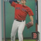 2015 Bowman Draft Picks & Prospects Chrome Refractor Tate Matheny (Red Sox) #89