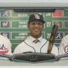 2015 Bowman Draft Picks & Prospects Draft Night Garrett Whitley (Rays) #DN-4