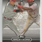 2016 Topps Baseball Back to Back Joey Votto & Brandon Phillips (Reds) #B2B-5