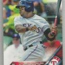 2016 Topps Baseball Future Stars Delino DeShields Jr (Rangers) #19