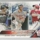 2016 Topps Baseball League Leaders Dee Gordon / Bryce Harper / Paul Goldschmidt #338