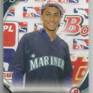 2016 Bowman Baseball International Ink Carlos Vargas (Mariners) #II-CV