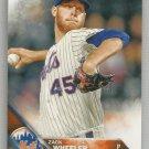 2016 Topps Baseball Zack Wheeler (Mets) #529