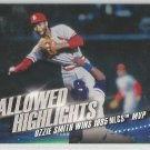 2016 Topps Baseball Hallowed Highlights Ozzie Smith (Cardinals) #HH-2