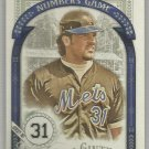 2016 Topps Allen & Ginter Baseball The Numbers Game Mike Piazza (Mets) #NG-61