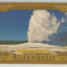 "2016 Topps Allen & Ginter Baseball Natural Wonders ""Old Faithful"" #NW-6"